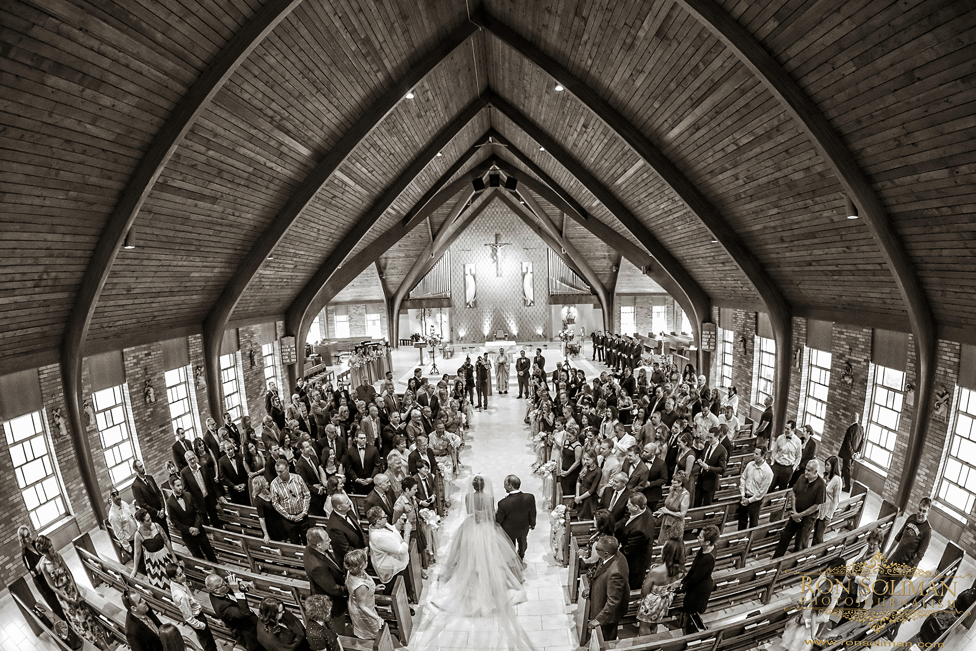 Notre Dame Catholic Church North Caldwell NJ wedding