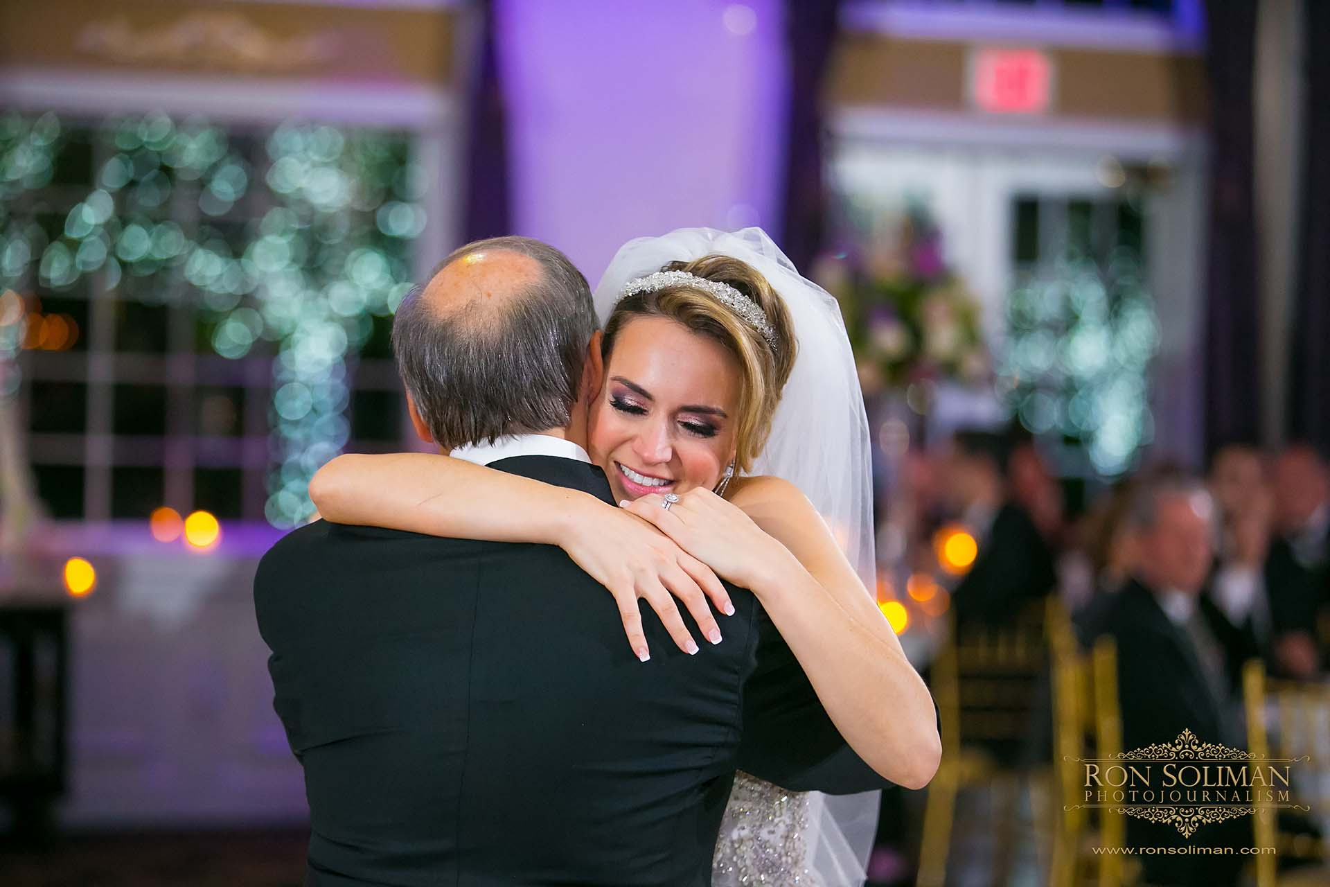 Father daughter dance wedding photos