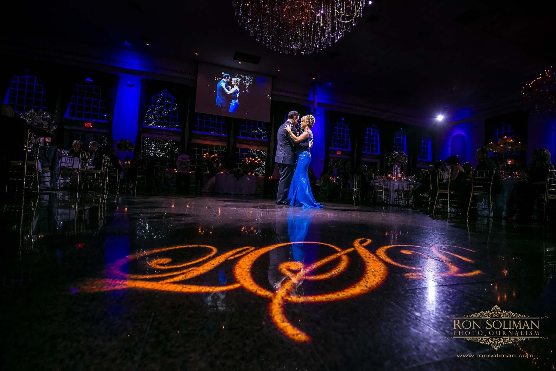 mother son dance wedding photos