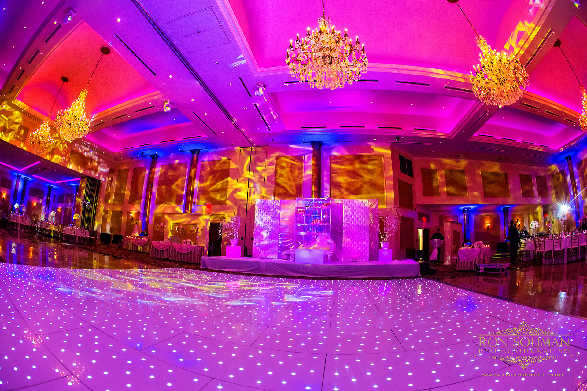 Indian wedding receptio at The Merion
