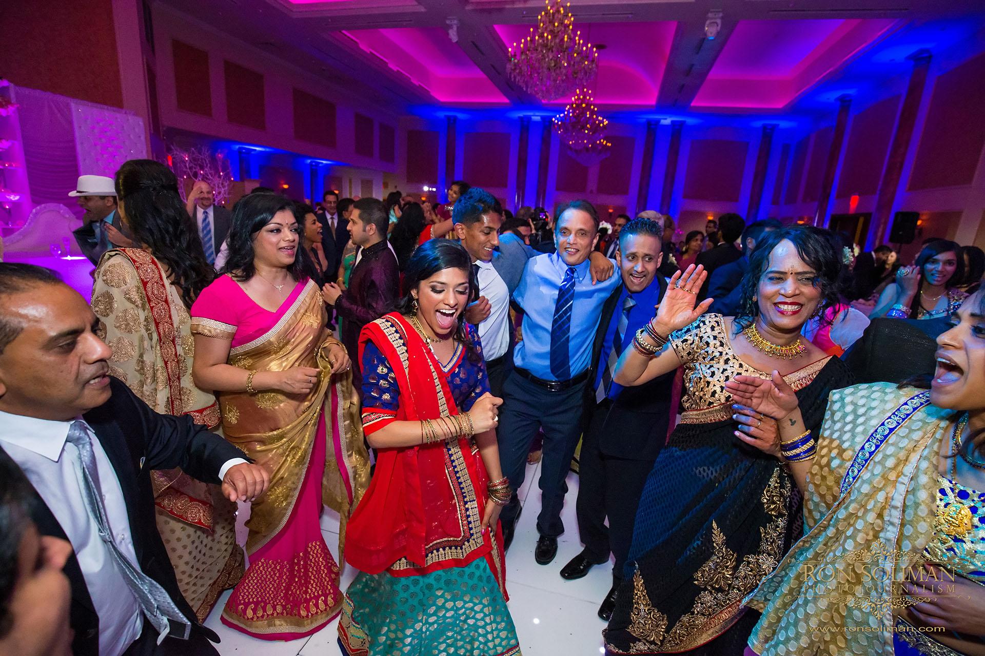 Indian wedding receptio at The Merion
