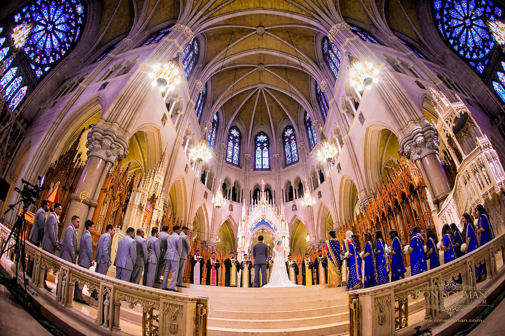 Cathedral Basilica of the Sacred Heart wedding photos