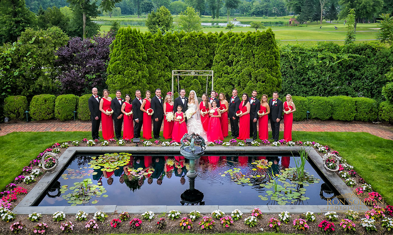 bridal party at park savoy
