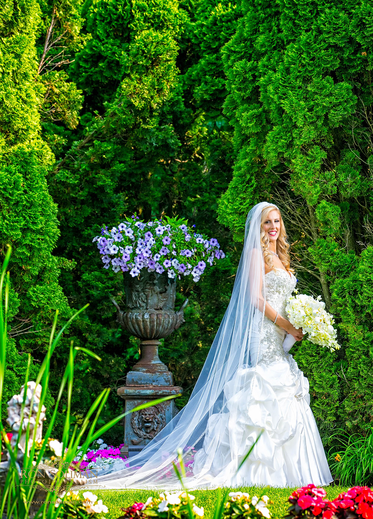park savoy outdoor wedding ceremony