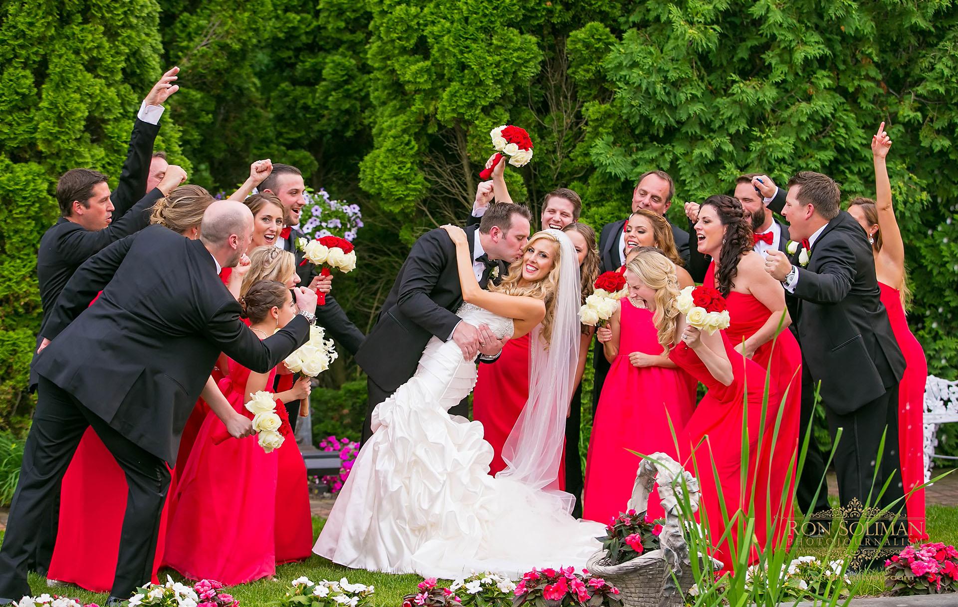 bridal party at park savoy
