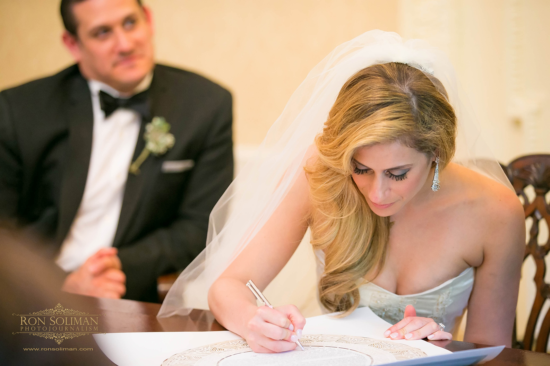 Ketubah signing wedding