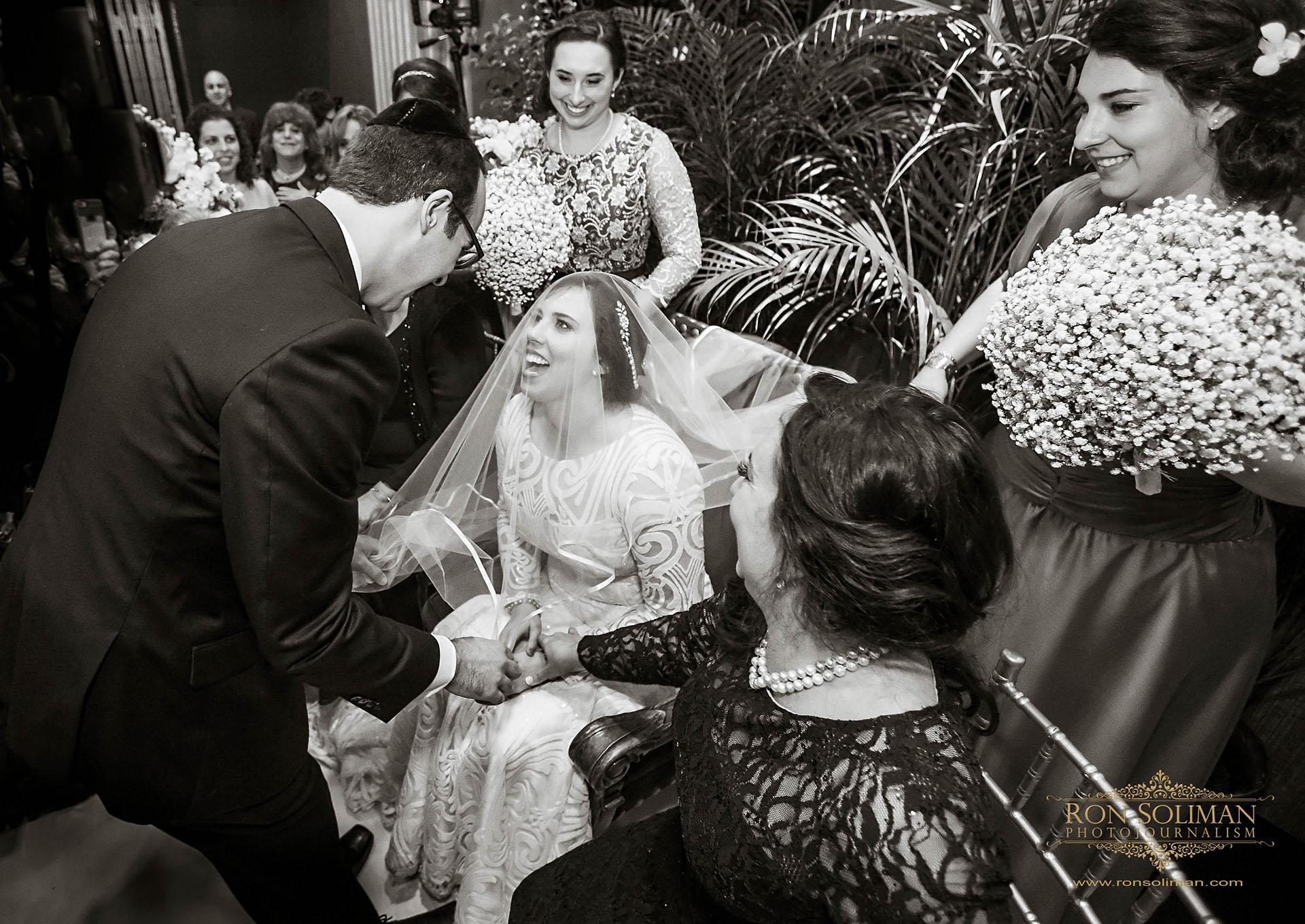 best wedding photos at Sephardic Temple