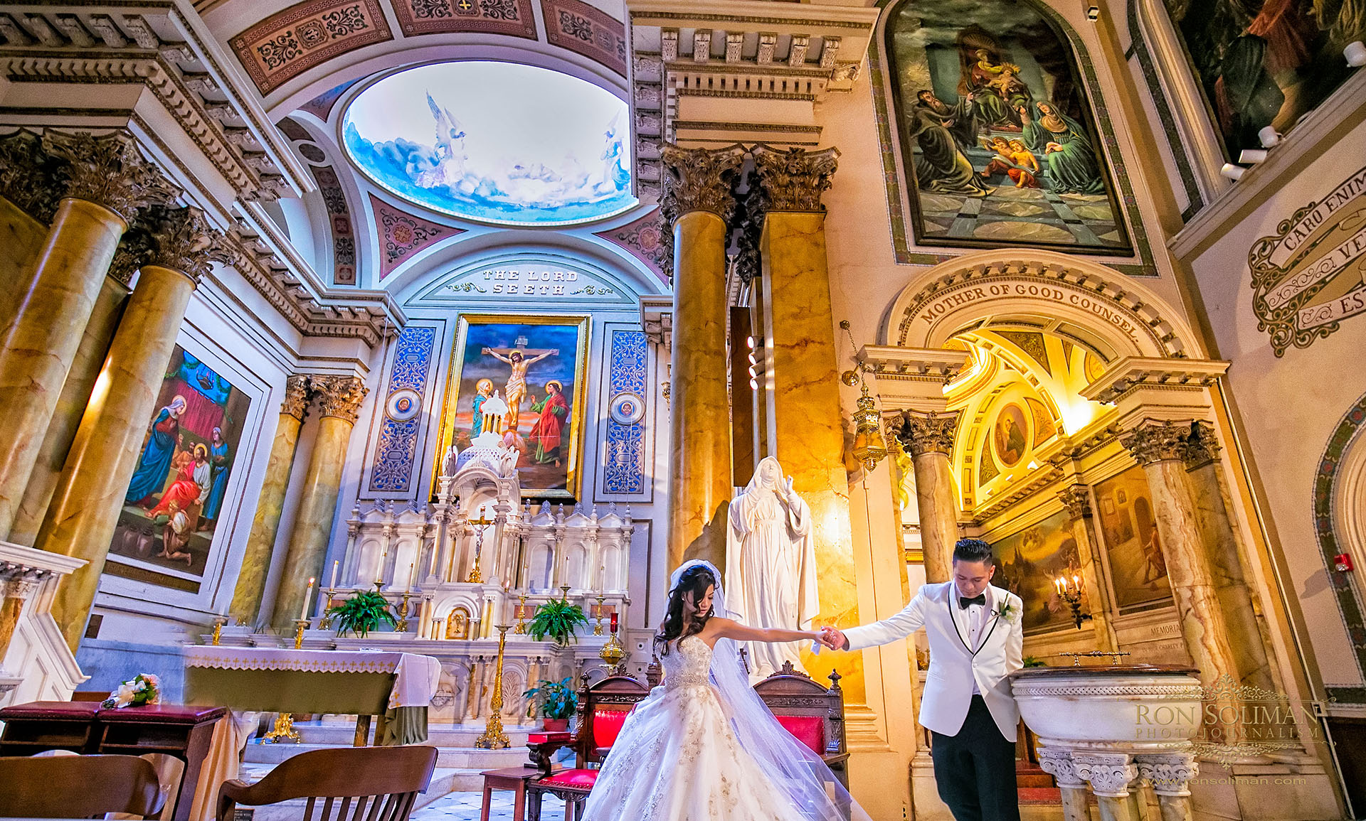 St. Augustine Church Philadelphia best wedding photos