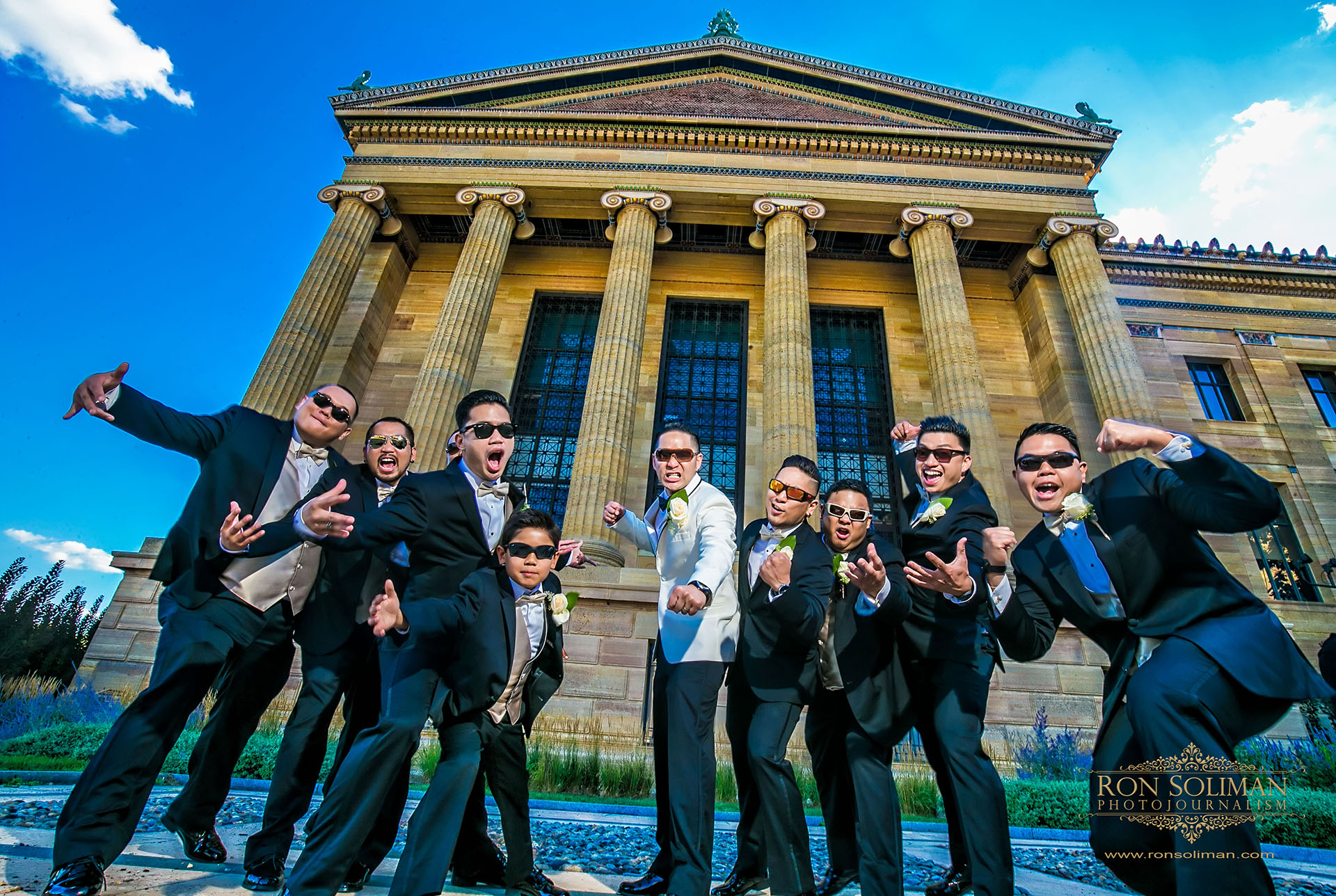 Best groomsmen photos