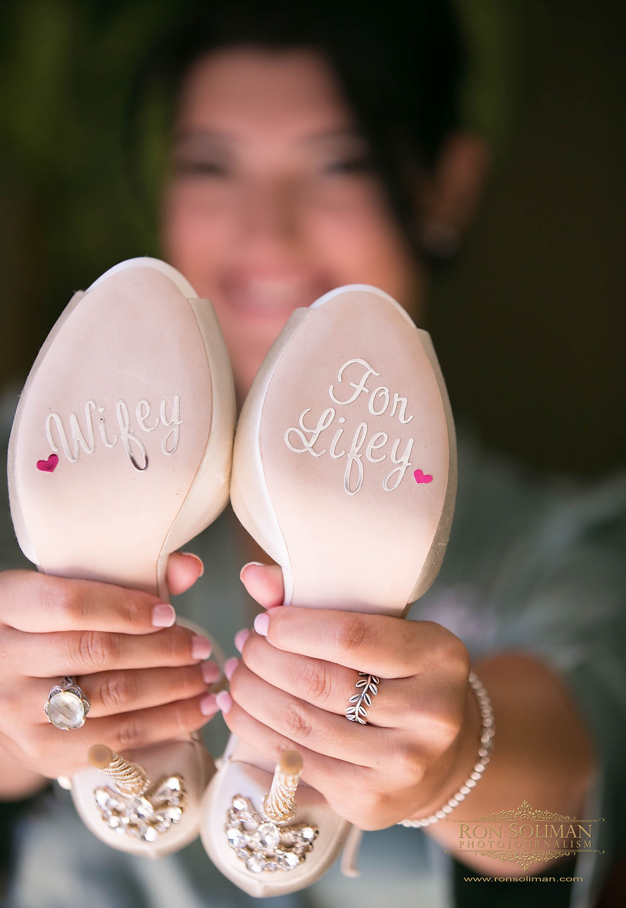 Wifey for Lifey Wedding shoes