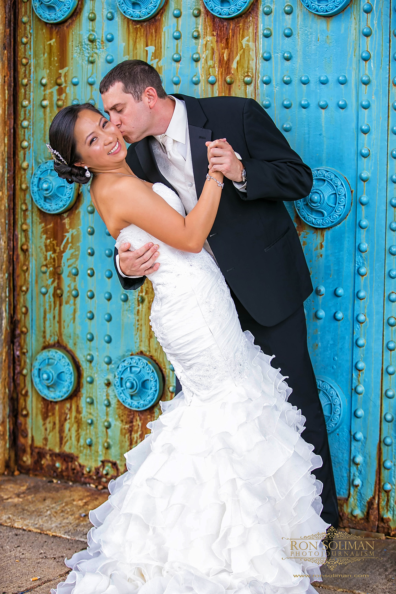 Ben Franklin Bridge Wedding photos