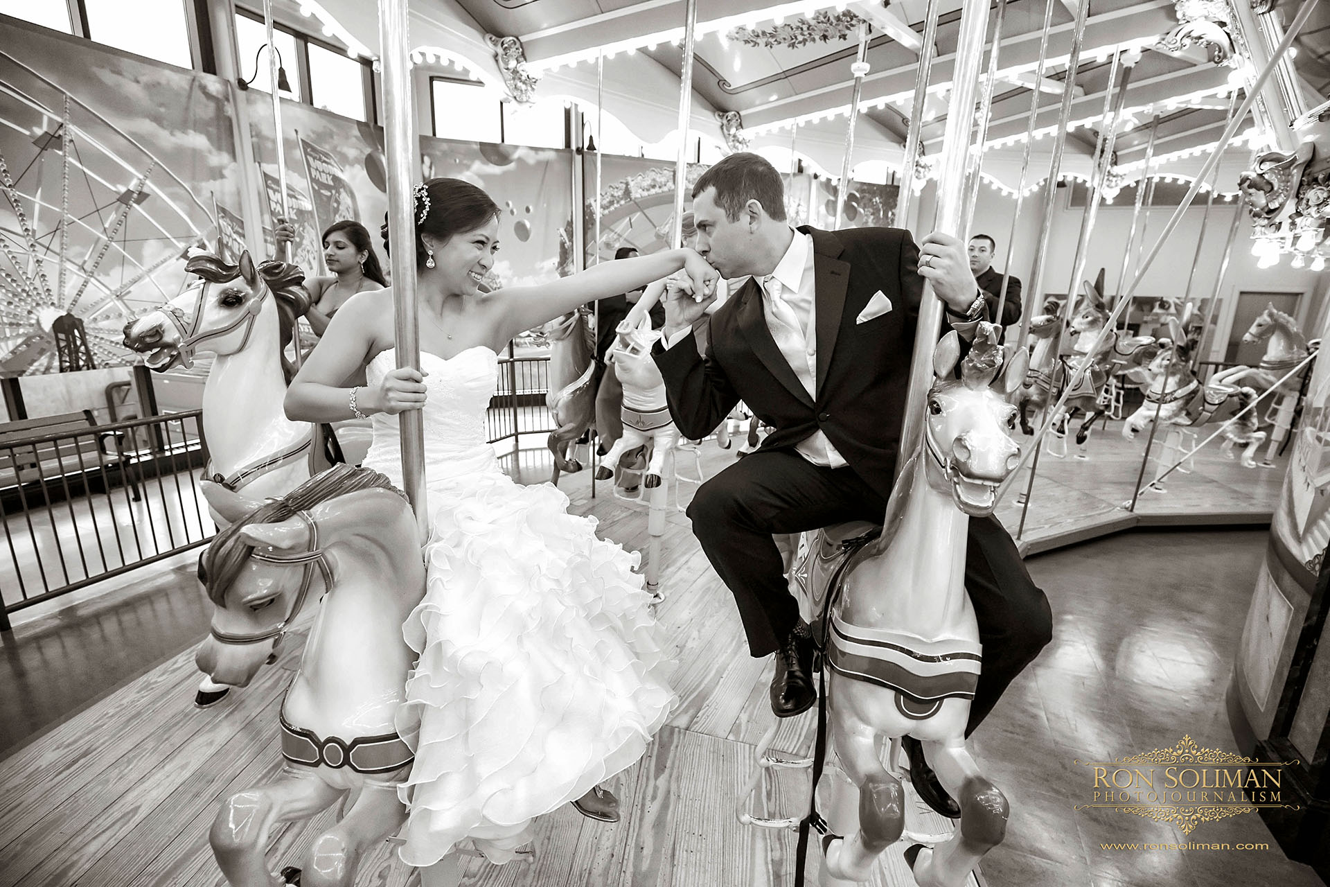 Best Carousel wedding photos