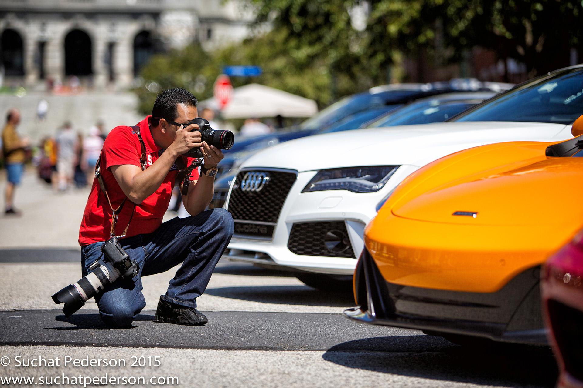 Lamborghini photographer