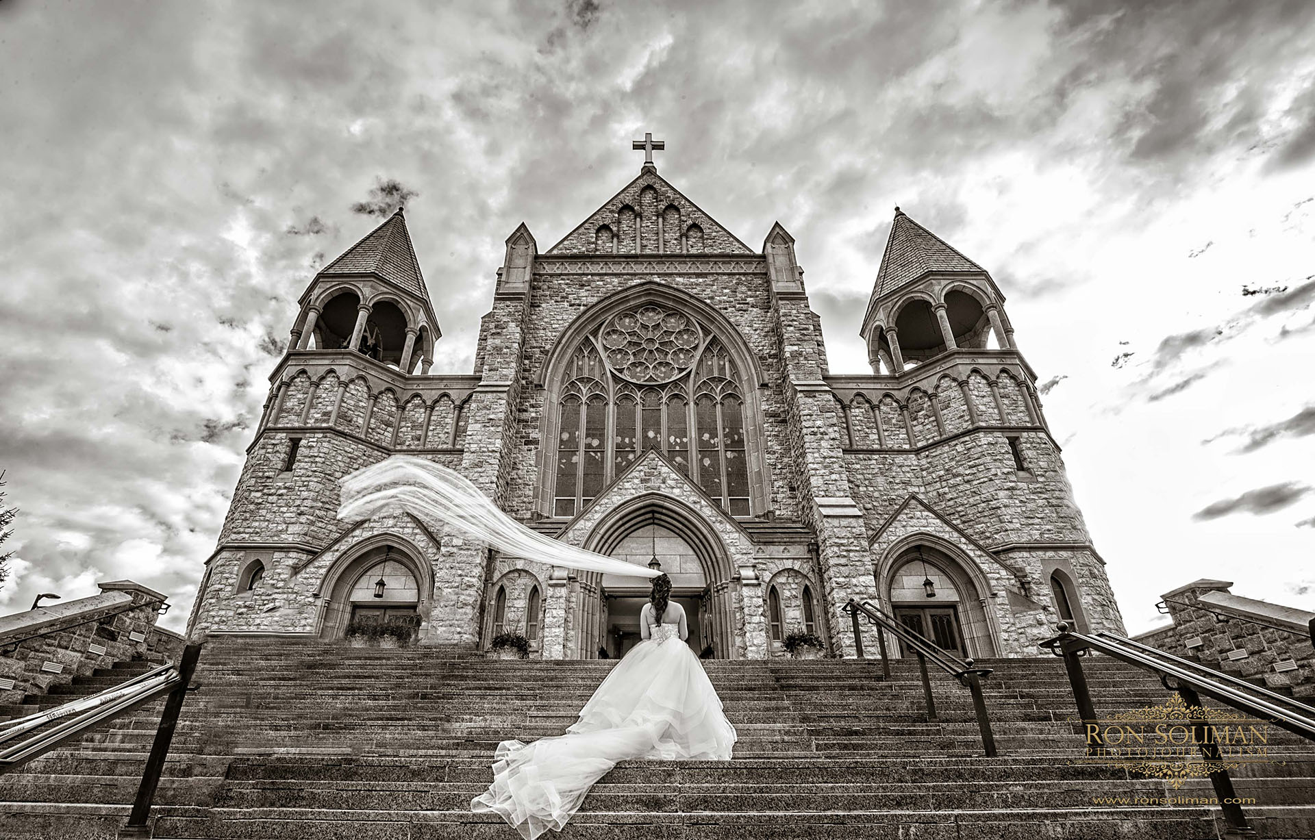 St. Teresa of Avila Parish wedding photos