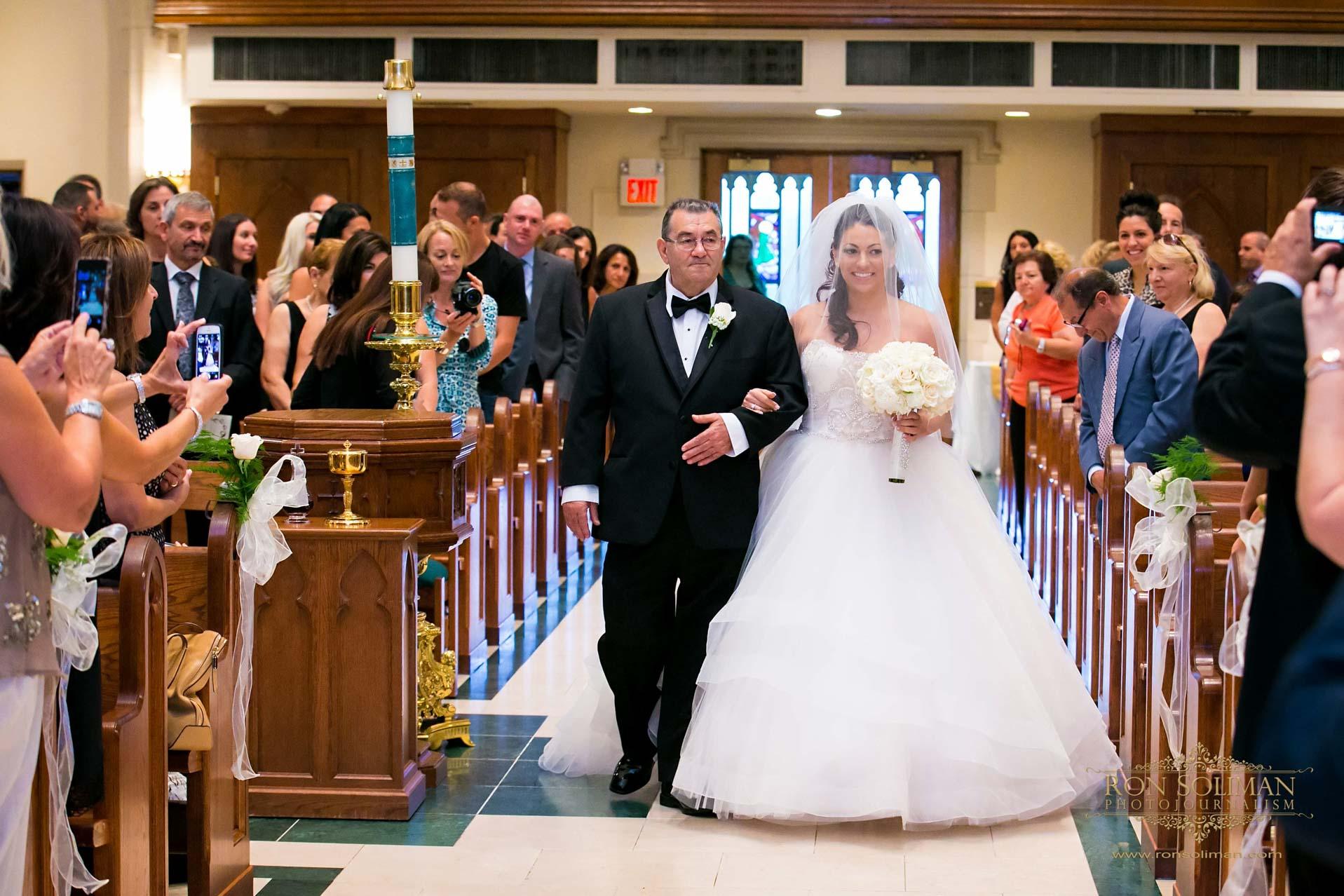 St. Teresa of Avila Parish wedding photos