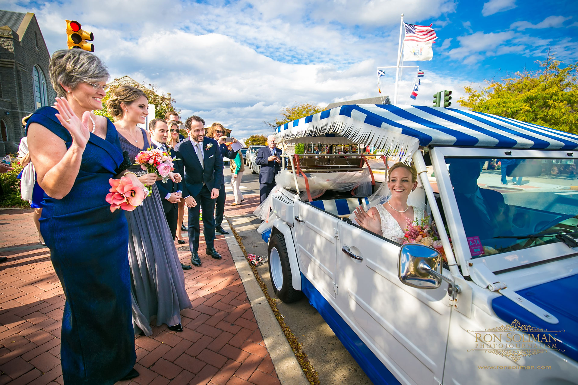 1972 Volkswagen wedding car