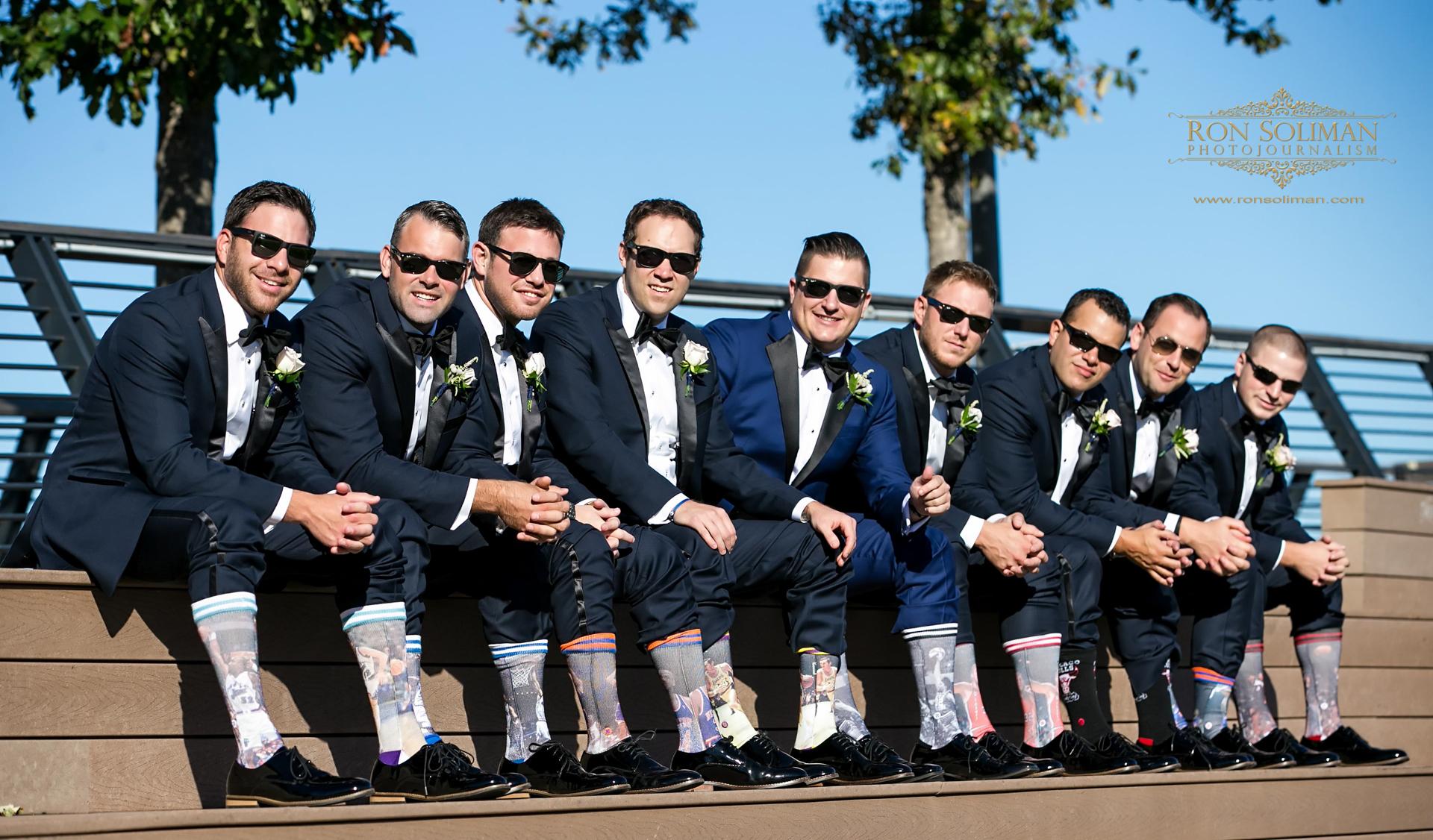 Groomsmen basketball socks