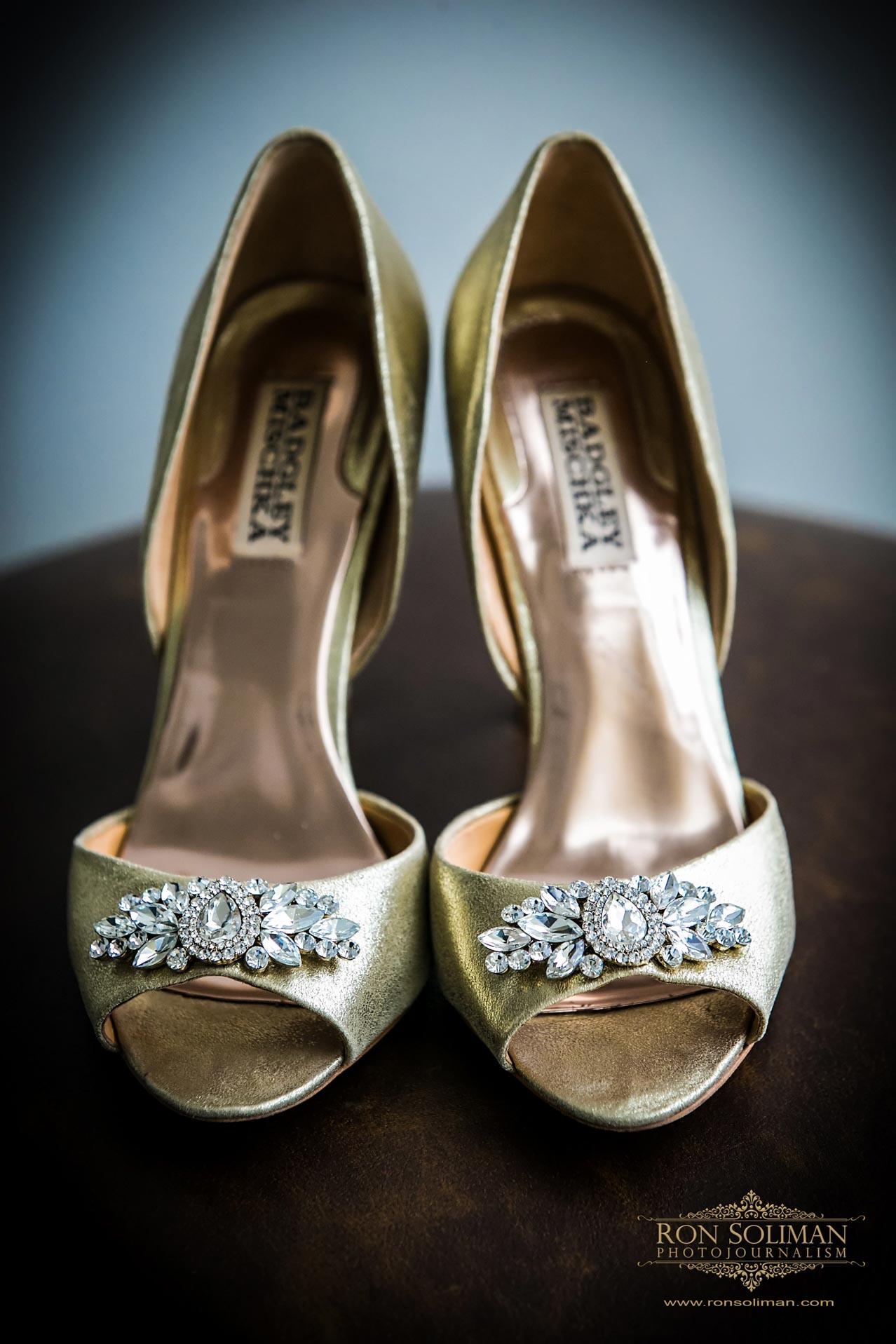 elegant wedding shoes photos