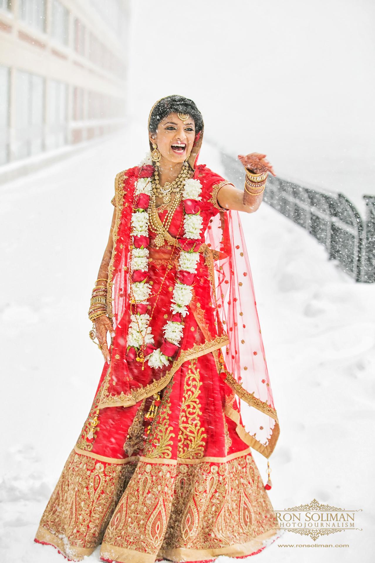 Best Snow wedding photos