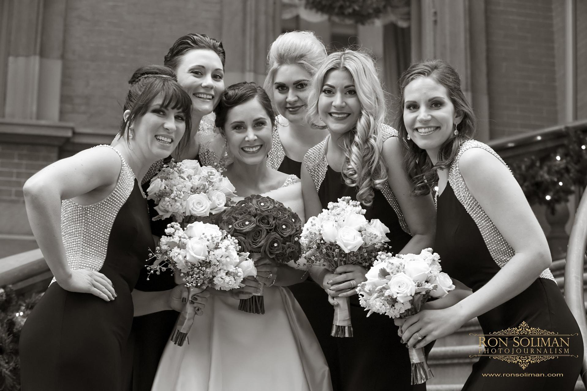 Best Black bridesmaids dresses