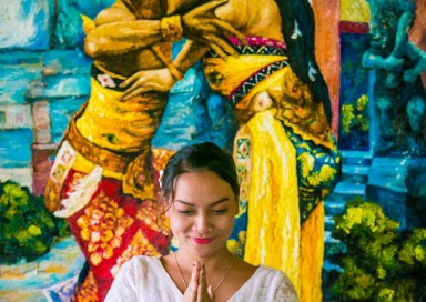 Balinese Sembah