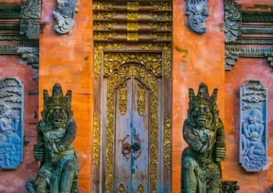 Balinese Hindu temple