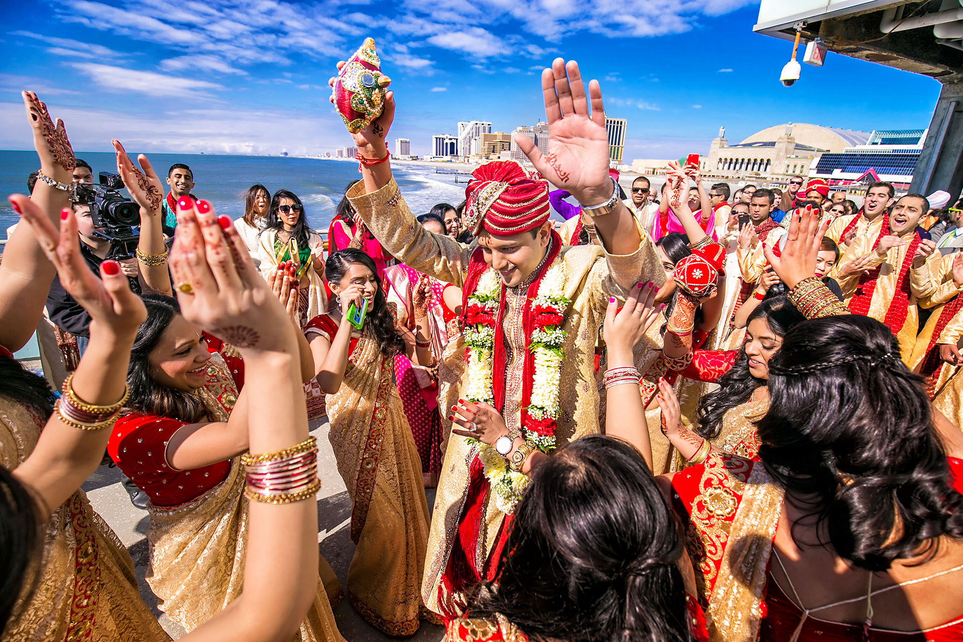 One Atlantic Wedding | Pallavi + Sooraj