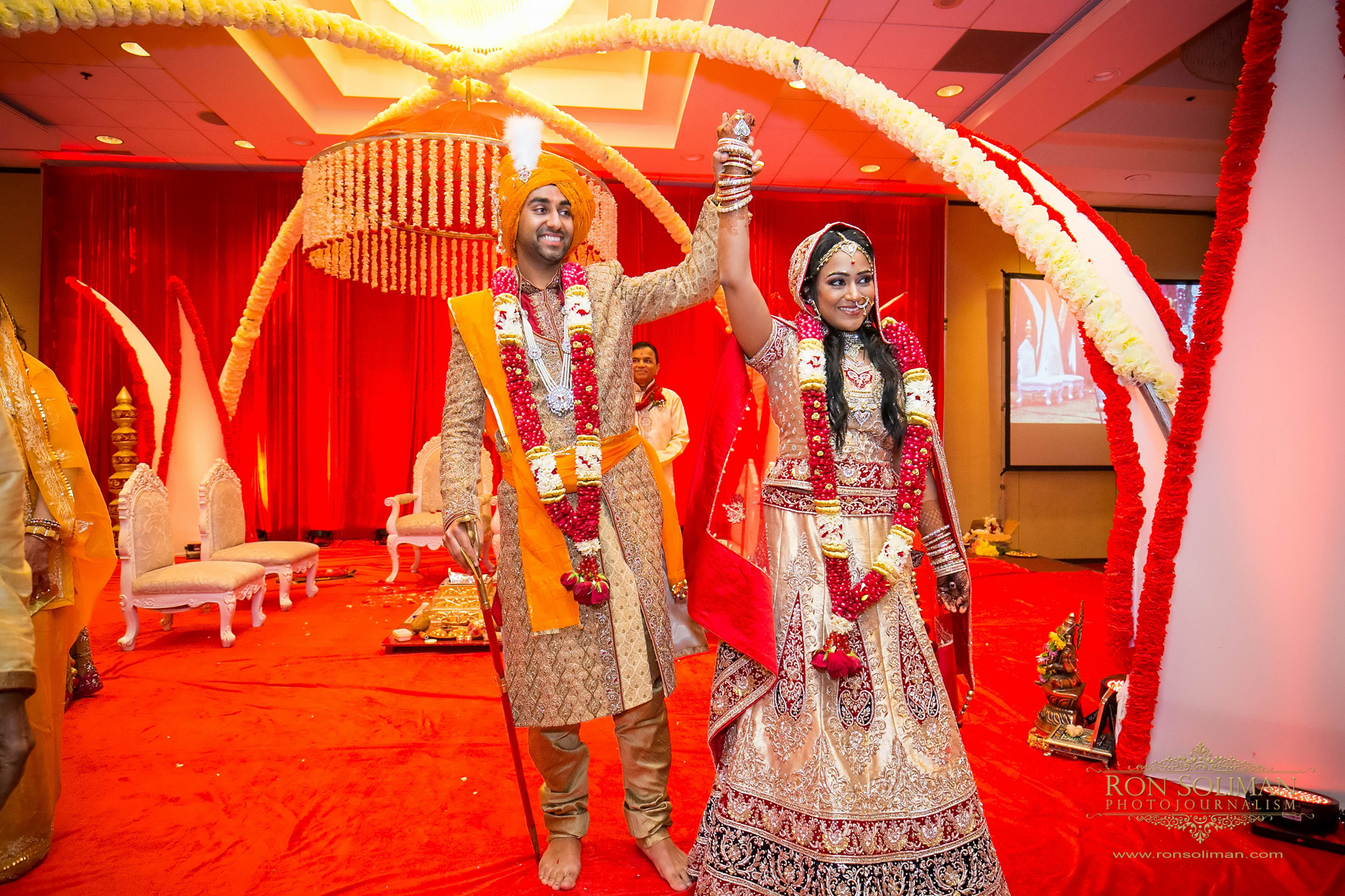 BWI Airport Marriot Hotel Indian Wedding 033