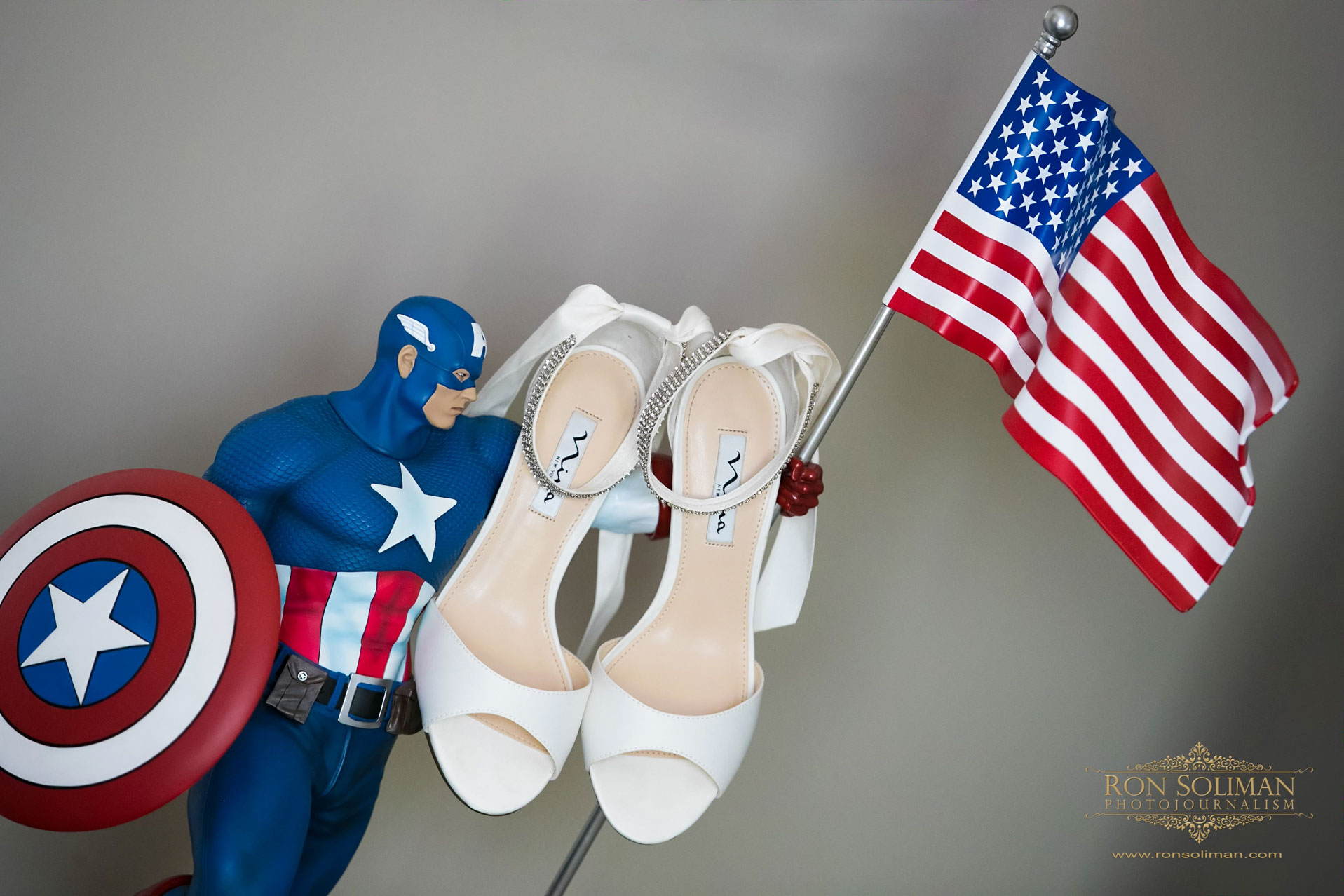 Superheroes wedding