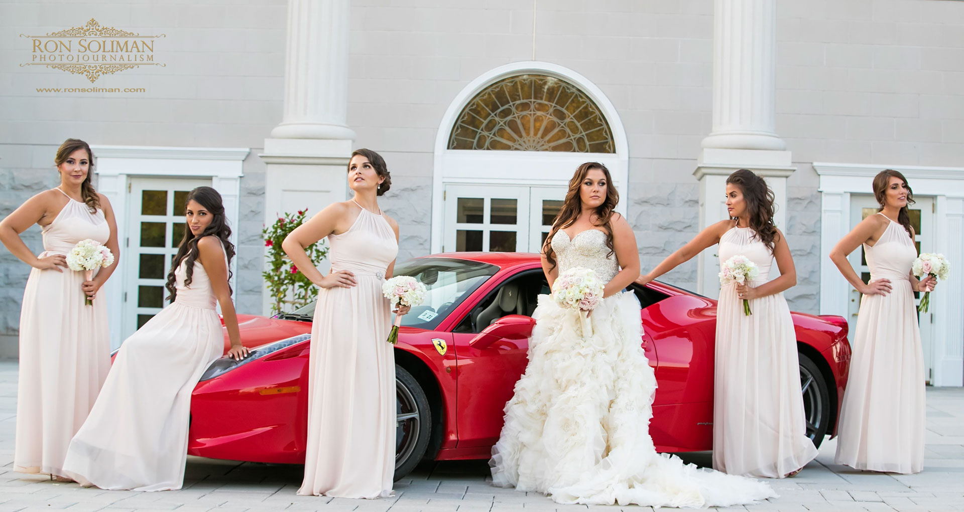 Ferrari 458 Wedding photos