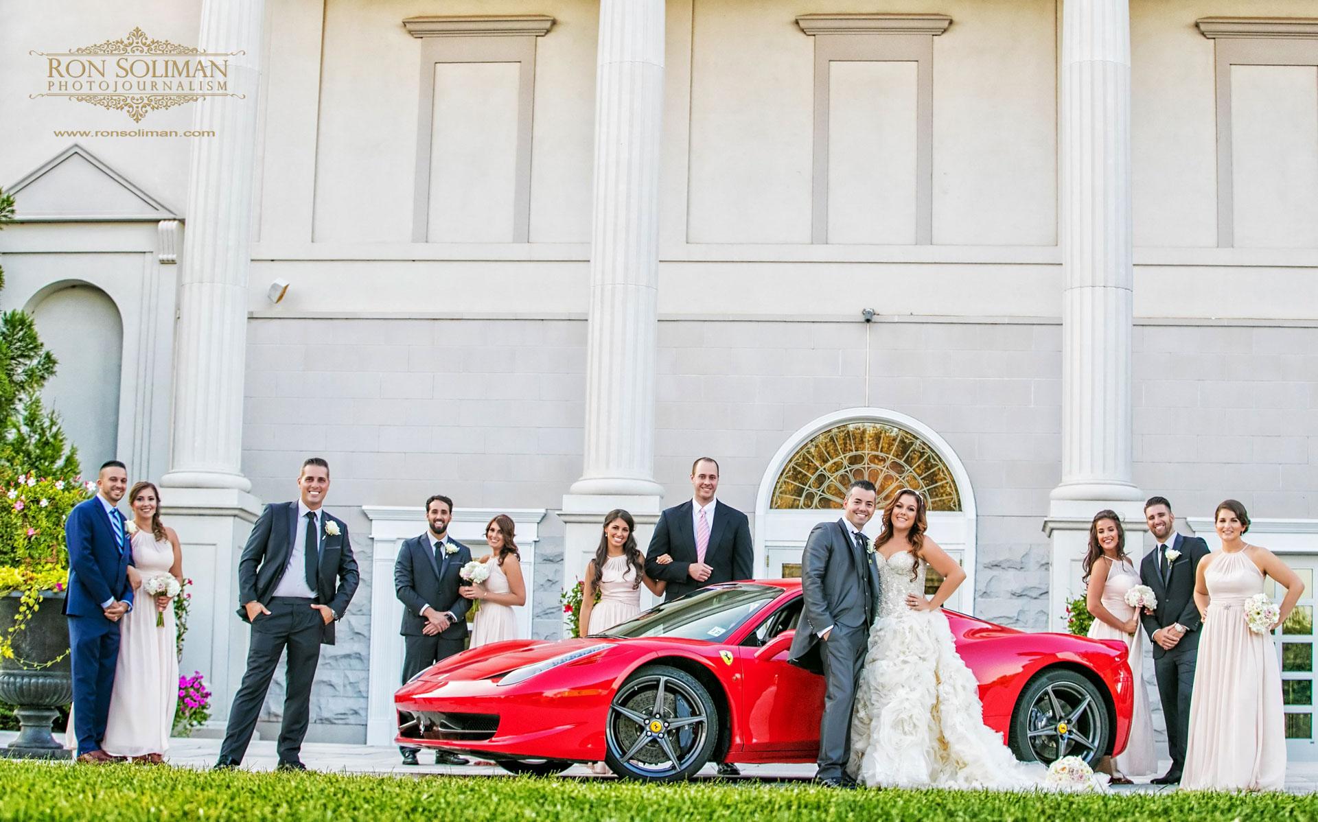 Ferrari 458 Wedding car