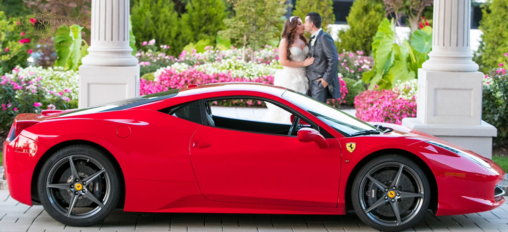 Ferrari 458 Wedding car
