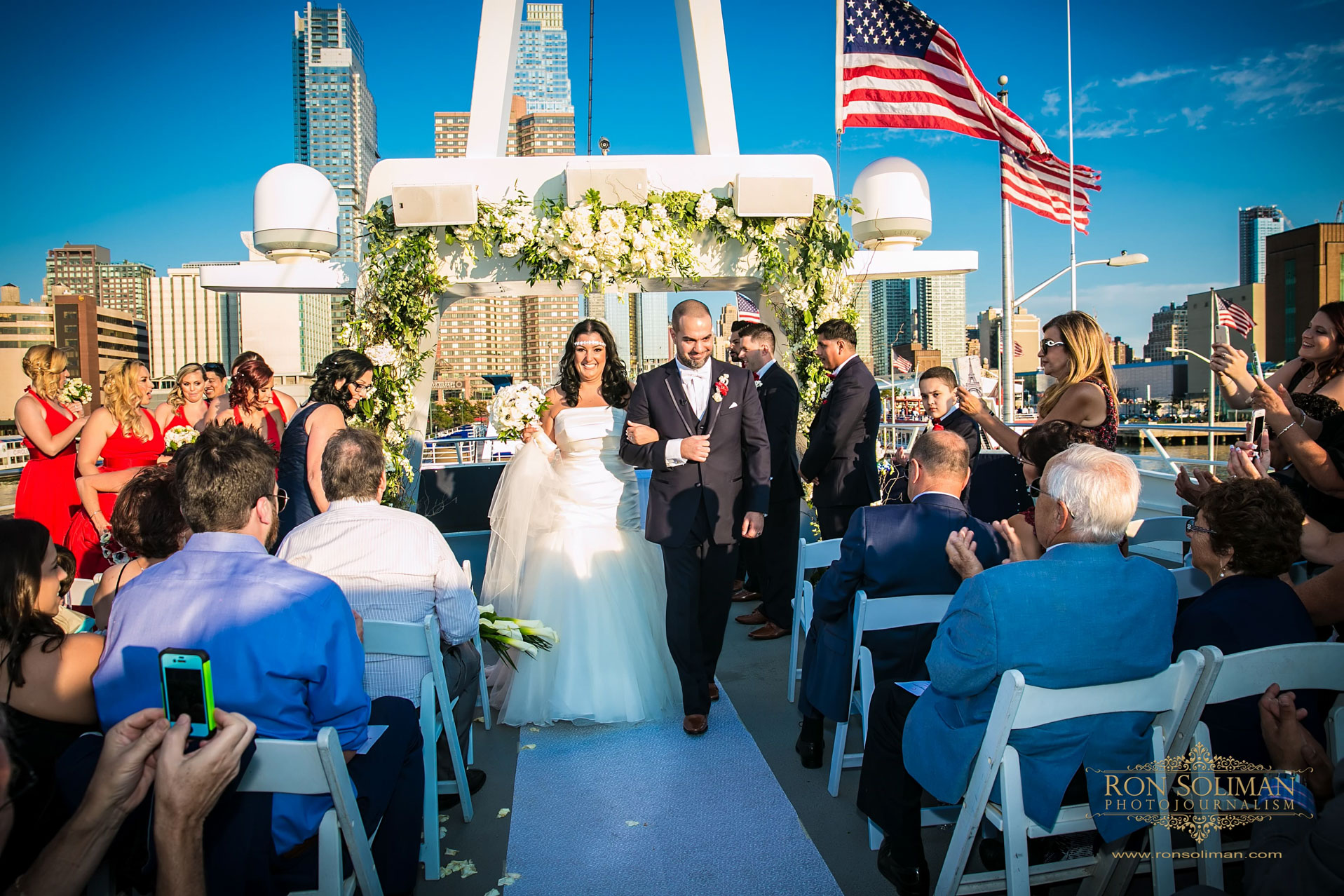 World Yacht New York Wedding photos