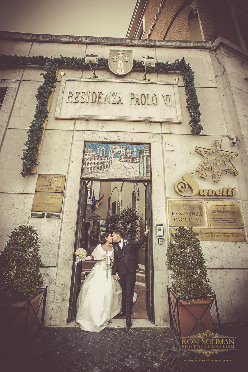 Residenza Paolo VI Wedding photos