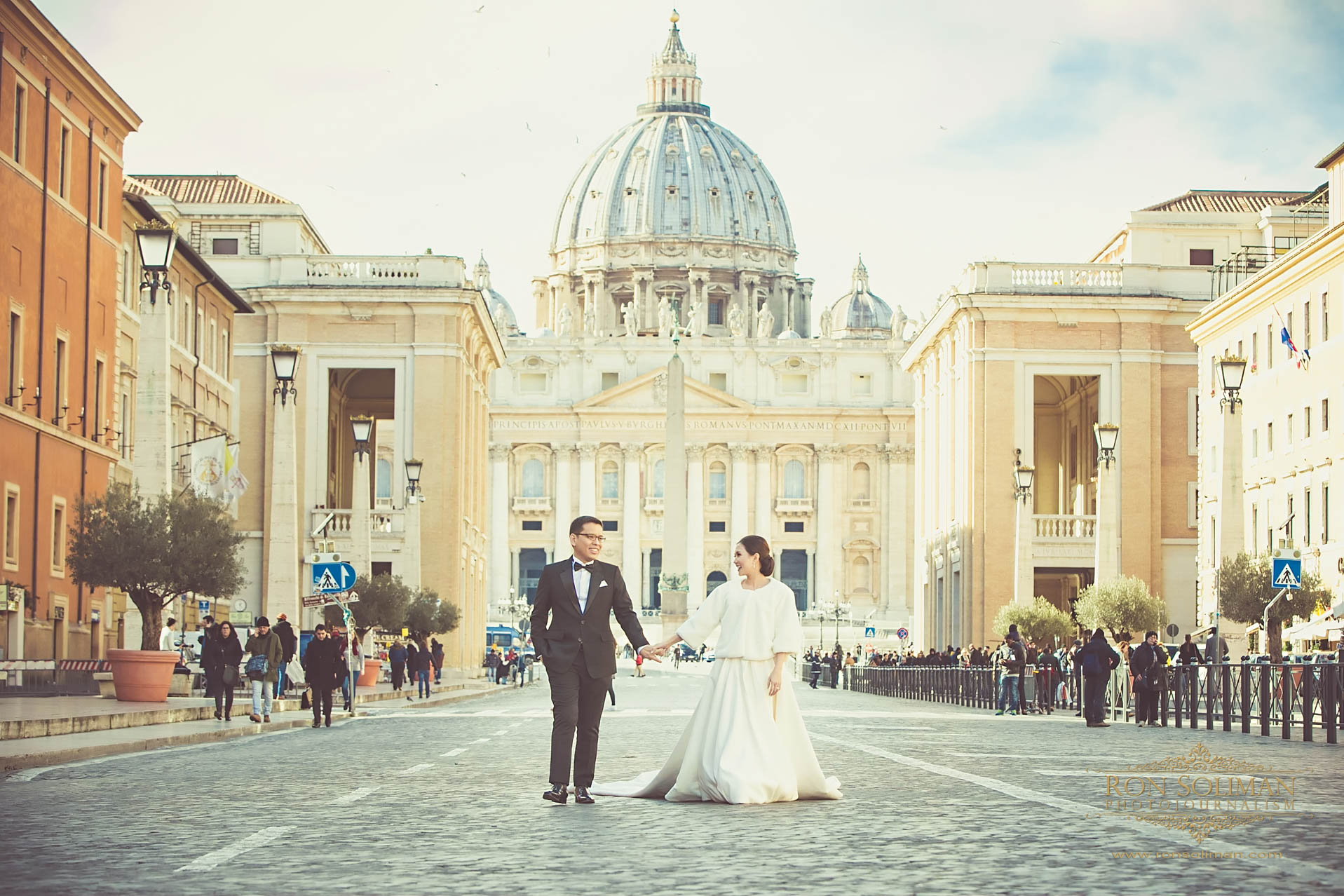 Best Saint Peter's Basilica Wedding photos