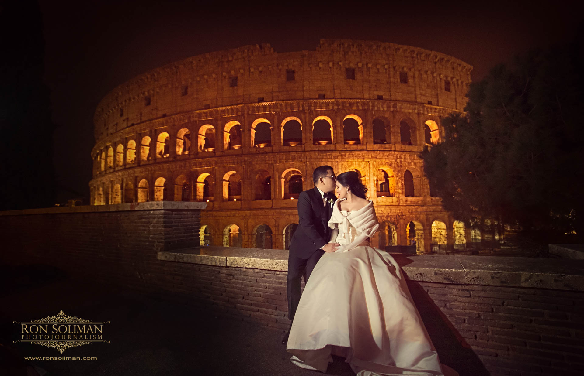 Best Colosseum wedding photos