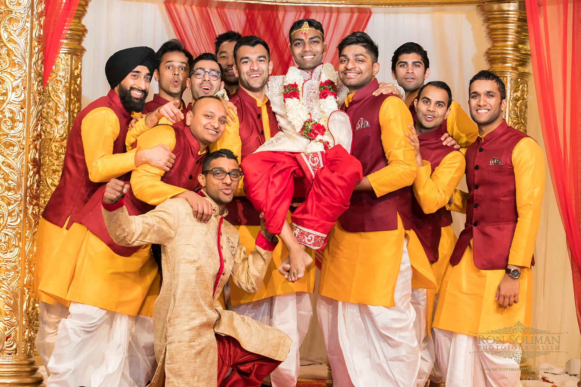 Bharatiya Temple of Metropolitan Detroit Wedding photos