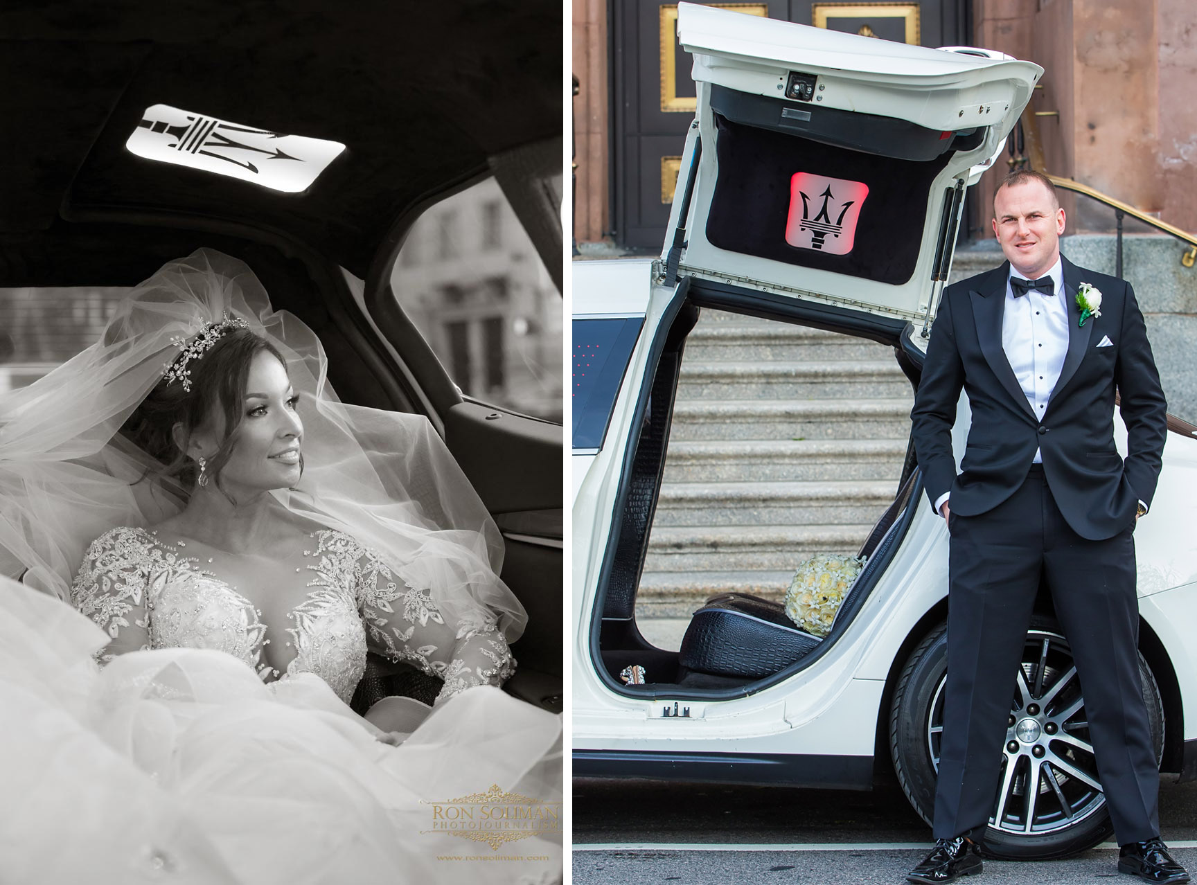 Maserati Limo for Weddings