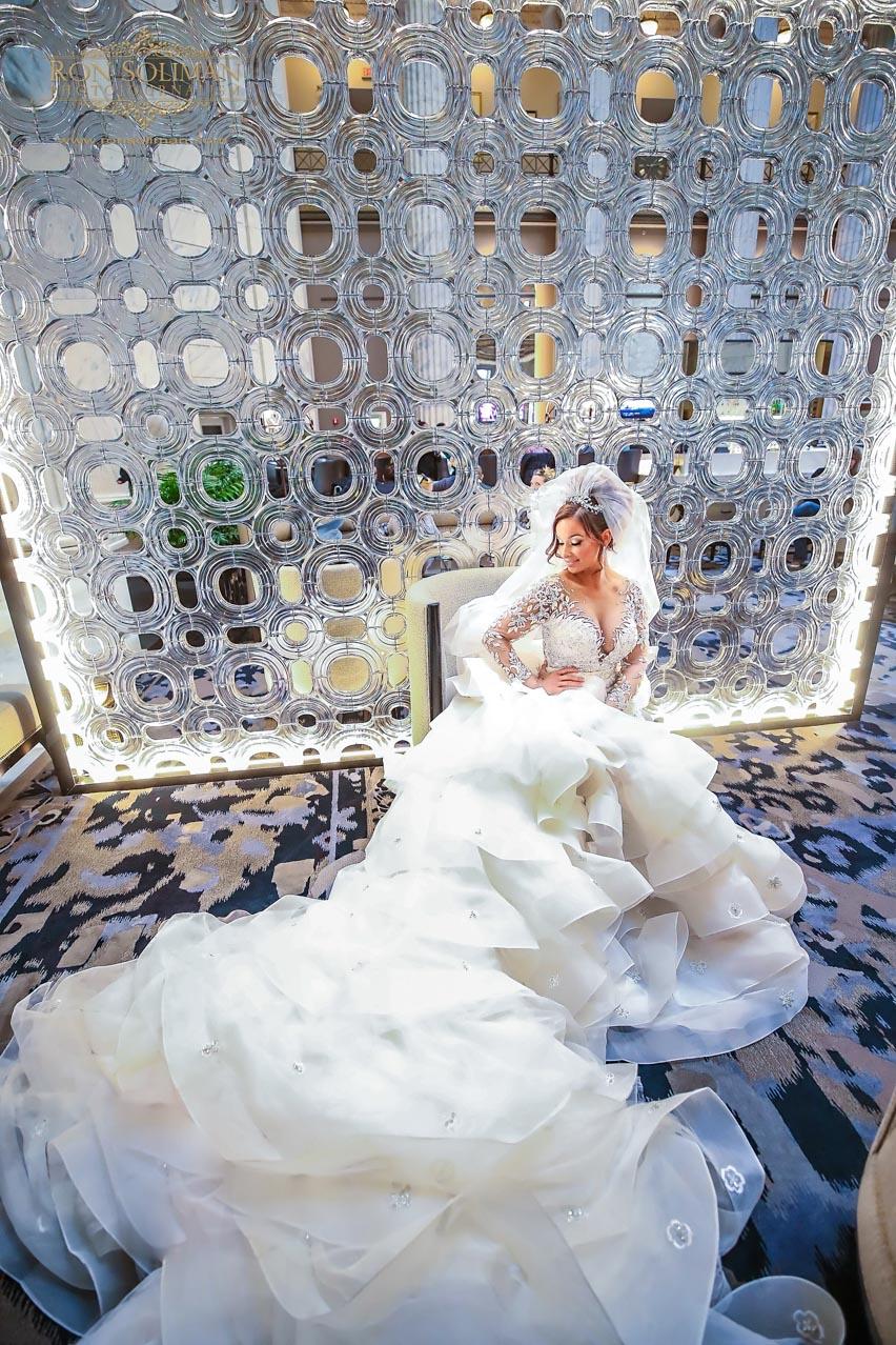 Ballroom at the Ben Wedding photos