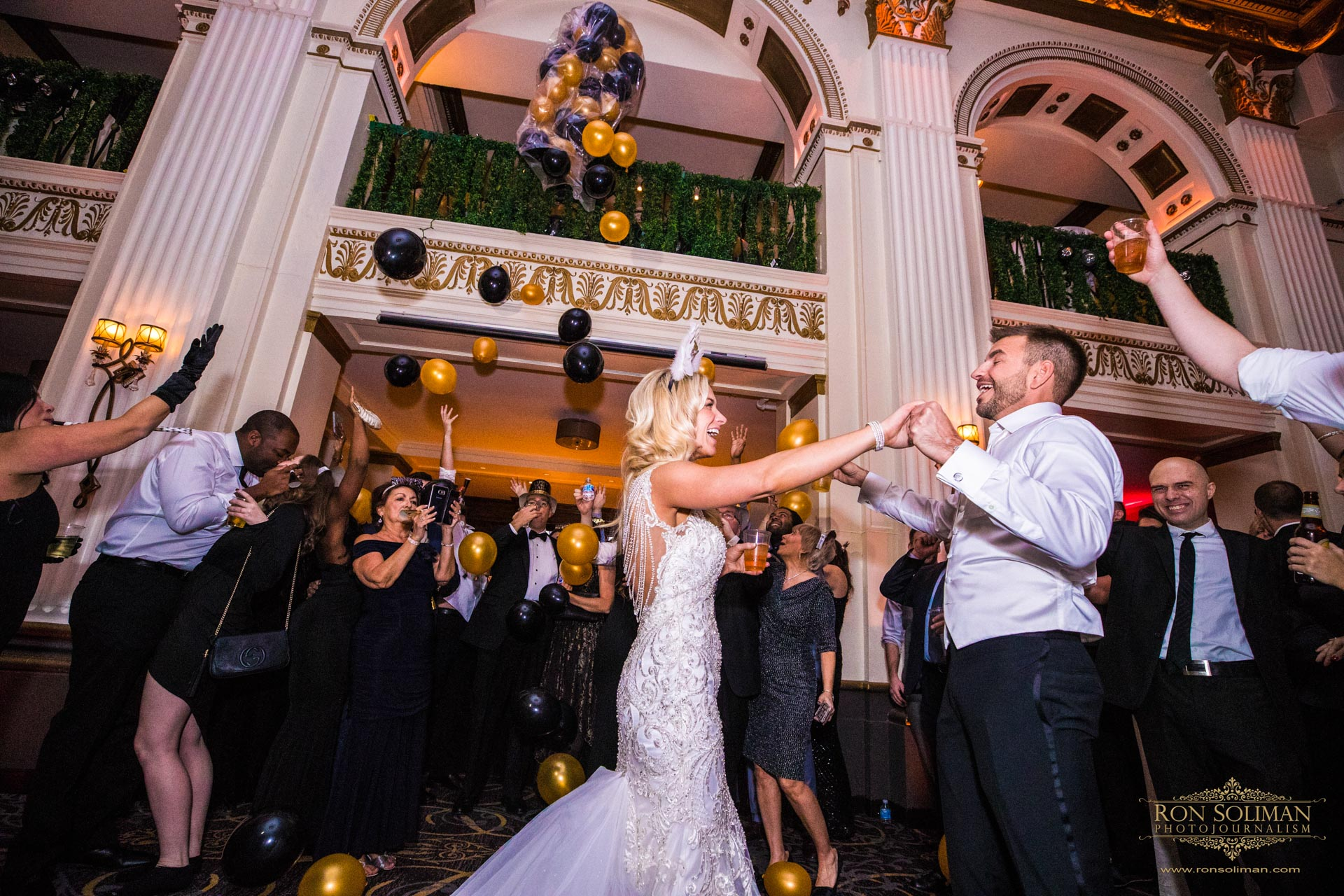 New Year's Eve Wedding at the Ballroom at the Ben