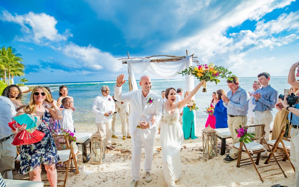 Best Cayman Island Wedding Photo