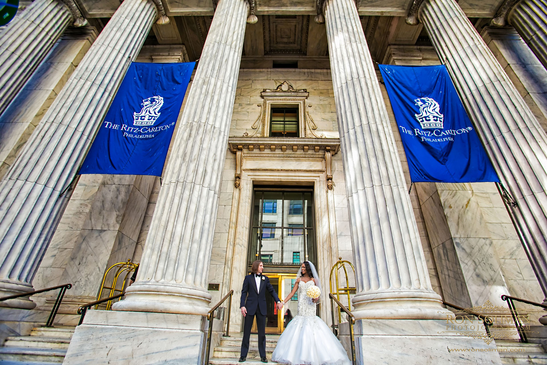 The Ritz-Carlton Philadelphia Wedding | Amber-Joi + Tommy