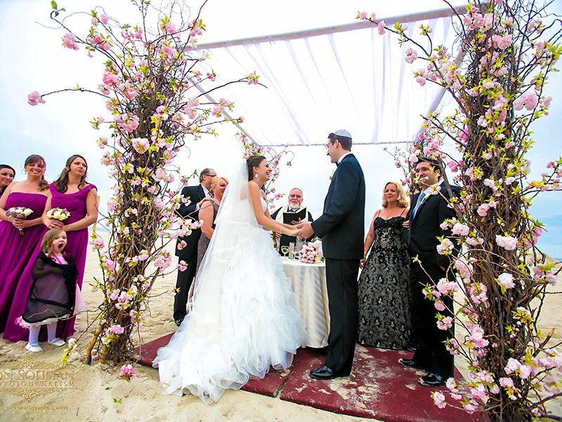 The Sands of Atlantic Beach Wedding | Johanna + Bryan
