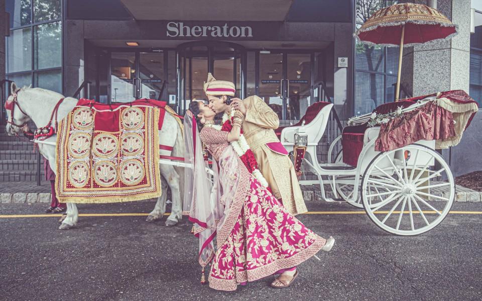 Best Indian wedding photos at SHERATON MAHWAH HOTEL