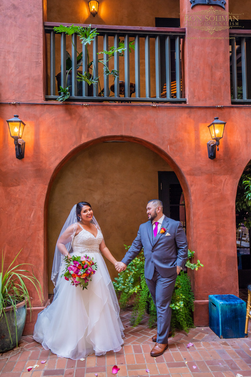 Hotel Valencia Wedding photos