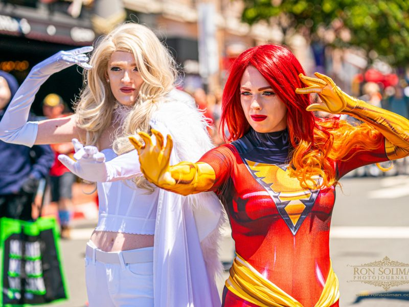Cosplayers at San Diego Comic-Con 2019