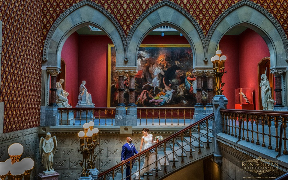 Pennsylvania Academy of the Fine Arts PAFA wedding