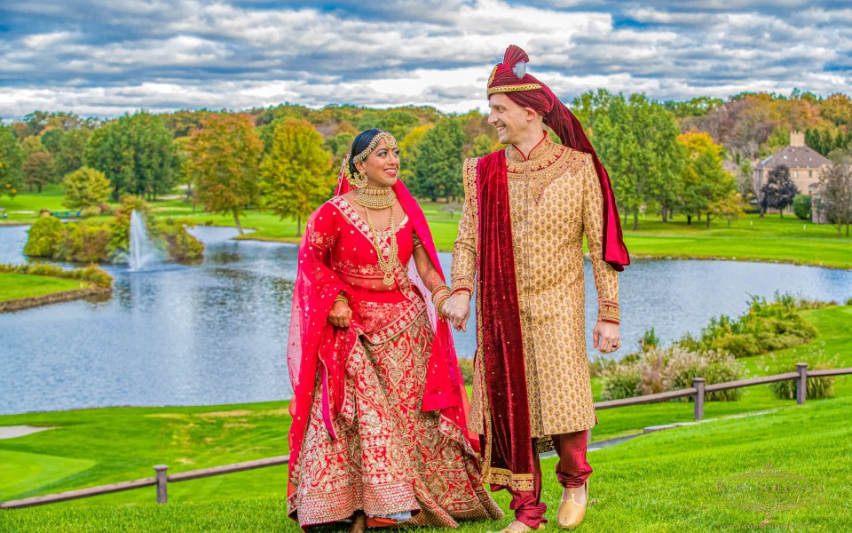 Brooklake Country Club Indian Wedding