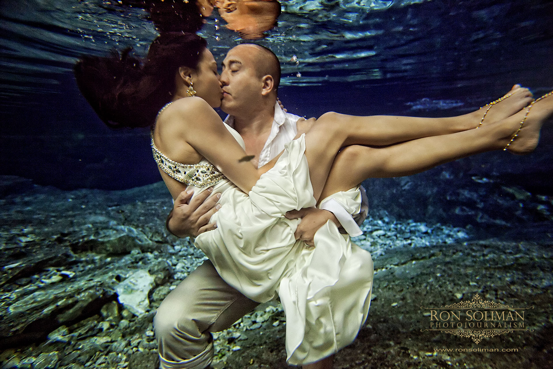 Cancun Mexico Destination Wedding | Trash the Dress