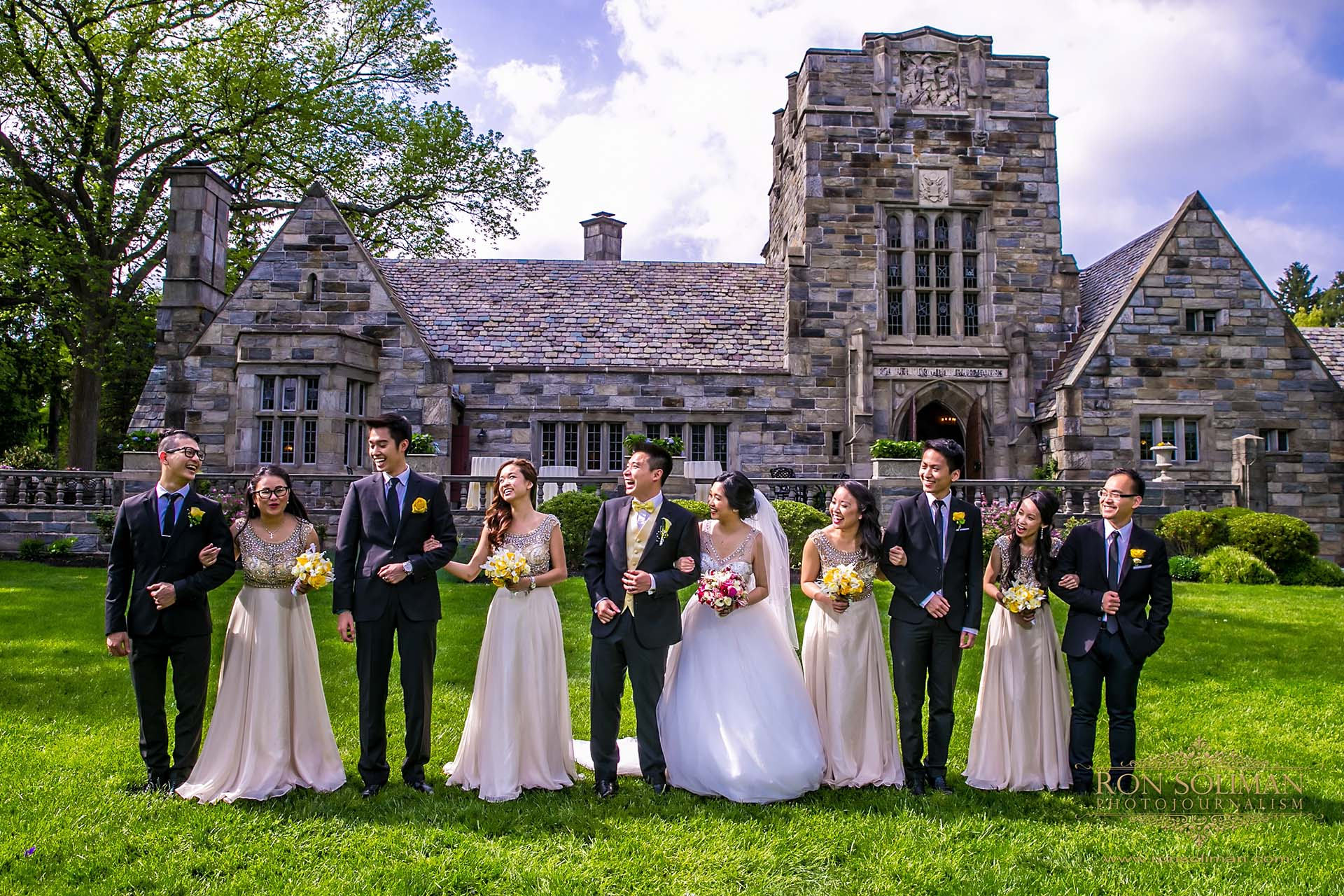 The Merion Tribute House Wedding | Gwen + Long